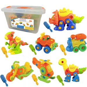 Kidtastic Set of 7 Take Apart Toys